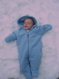 The Cuttest Little Snow Angel
